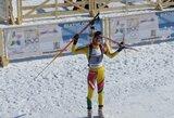 Ženkliai savo poziciją pagerinusi G.Leščinskaitė atvirajame Europos biatlono čempionate sulaukė diskvalifikacijos