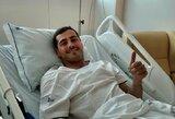 Socialiniuose tinkluose prabilęs I.Casillas nuramino dėl savo sveikatos, bet jo sezonas - baigtas