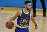 """NBA lyderius įveikusi """"Warriors"""" nutraukė ilgiausią sezono nesėkmių seriją"""