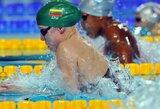 R.Meilutytė pateko į pasaulio 100 m krūtine plaukimo finalą