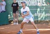 Įspūdingą pasirodymą surengęs L.Grigelis – turnyro Tunise finale