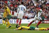 Drąsiai žaidusi Lietuva nepasipriešino Anglijos rinktinei