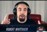 """R.Whittakeris paaiškino keistą savo pasitraukimą iš kovos su J.Cannonier: """"Praradau norą kovoti"""""""