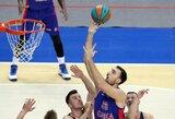 Trims CSKA krepšininkams nustatytas koronavirusas