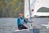 """Į """"sidabrinį"""" laivyną pasaulio čempionate patekęs Lietuvos buriuotojas: """"Išmokta daug svarbių pamokų"""""""