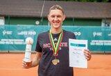 Lietuvos teniso čempionais tapo T.Babelis ir I.Dapkutė