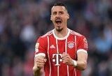 """Vokietijoje """"Bayern"""" iškovojo triuškinančią pergalę prieš """"Borussia"""""""