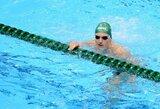 M.Sadauskas pasaulio plaukimo čempionate liko už pusfinalio borto