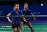 V.Fomkinaitė ir G.Voitechovskaja Estijoje nukeliavo iki ketvirtfinalio