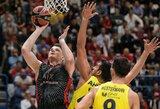 """17 taškų surinkęs A.Gudaitis padėjo """"AX Armani"""" nugalėti """"Fenerbahče"""""""