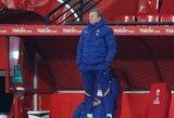 """""""Barcelonos"""" fanai pasiskirstė į dvi stovyklas: vieni palaiko R.Koemaną, kiti nori Xavi"""