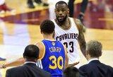 L.Jamesas: ar man rankoje gali įdėti čipą, jog galėčiau mėtyti kaip Curry?