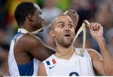 """U.Boltas metė iššūkį T.Parkeriui: """"Labas Tony, tavo metimas yra niekam tikęs. Žiūrėk į tai"""""""