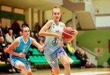 13-metė J.Jocytė galingai debiutavo Lietuvos moterų krepšinio lygoje, 16-metė A.Zdanevičiūtė pasirodė dar įspūdingiau