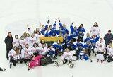 IIHF sprendimo laukiančios ledo ritulininkės meistriškumą kelia tarptautiniuose turnyruose