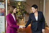 LTOK prezidentė D.Gudzinevičiūtė susitiko su olimpine vicečempione A.Herasimenia