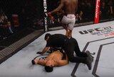 UFC turnyro Brazilijoje pagrindinė kova netruko nė trijų minučių: D.Brunsonas nokautavo buvusį čempioną