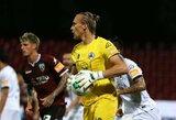 T.Krapikas po ilgos pertraukos žaidė Italijoje, G.Arlauskis nepraleido įvarčio Rumunijoje