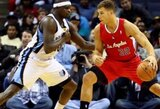 """Puikiai žaidę Clippers"""" krepšininkai padovanojo treneriui 600-ąją pergalę"""