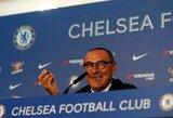 """Vis daugiau kritikos sulaukiantis M.Sarri: """"Napoli"""" gretose jaučiau daugiau spaudimo nei Londone"""""""