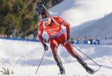 Lietuviai sėkmingai užbaigė pasaulio biatlono taurės etapą Suomijoje