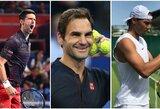 """Ištraukti prestižinio """"ATP Finals"""" turnyro burtai: R.Federeris ir N.Djokovičius – vienoje grupėje"""