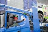 V.Žala Dakaro automobilį į uostą išvežė pats