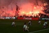 """""""Marseille"""" sulaukė griežtų UEFA sankcijų"""