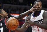 """""""Clippers"""" nori išmainyti du žaidėjus, įsigytus šį tarpsezonį"""