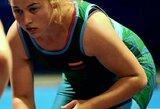 G.Čeponytė pralaimėjo kovą dėl Europos jaunimo imtynių čempionato bronzos
