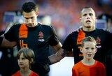 R.van Persie nėra tikras dėl pagrindinio puolėjo vaidmens Olandijos rinktinėje