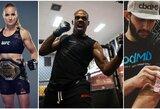 """""""UFC 247"""" pristatymas ir prognozės: ar J.Jonesas pagerins legendinį G.St-Pierre'o rekordą?"""