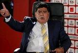 """D.Maradona: """"L.Messi pasitraukimas iš rinktinės galėjo būti surežisuotas"""""""
