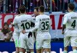"""Vokietijos """"Bundesliga"""": į savus vartus mušę """"Werder"""" rungtynių pabaigoje sugebėjo išplėšti lygiąsias"""