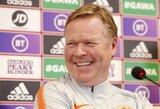 """Nyderlandų rinktinės vedlys R.Koemanas: """"Tikiuosi, kad vieną dieną galėsiu treniruoti """"Barcelona"""""""