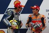 M.Marquezas neleido V.Rossi iškovoti pole pozicijos Malaizijoje
