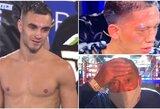 Skandalas bokse: po 26 minutes trukusios peržiūros titulinė kova buvo paskelbta neįvykusia