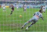 """Italijos taurė: """"Genoa"""" po pratęsimo ir baudinių serijos krito prieš trečios lygos komandą, """"Torino"""" pateko į kitą etapą"""