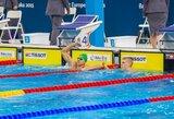 A.Šidlauskas pateko į pasaulio jaunimo plaukimo čempionato pusfinalį