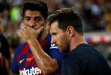 """""""Barcelona"""" nuostolis: L.Messi praleis pirmąsias Ispanijos pirmenybių rungtynes"""