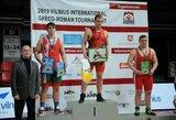 Vilniaus imtynių turnyre – sunkiasvorio E.Čerepoko triumfas