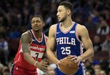 NBA savaitės laurai – B.Simmonsui ir N.Jokičiui