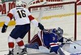 """Įspūdingas A.Barkovo baudinys lėmė """"Panthers"""" pergalę prieš """"Rangers"""""""