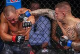"""""""UFC on FOX 30"""": revanšinėje kovoje D.Poirieris po daugybės tikslių smūgių techniniu nokautu nugalėjo E.Alvarezą"""