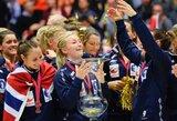 Stebuklas neįvyko: Norvegijos rankininkės iškovojo pasaulio čempionių titulą