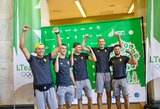 Lietuvos sportininkai palydėti į Europos žaidynes