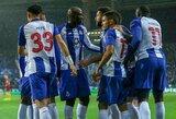 """Čempionų lygos aštuntfinalis: """"Porto"""" po pratęsimo palaužė """"AS Roma"""" futbolininkus"""
