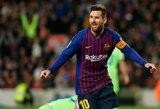 "J.M.Bartomeu: ""L.Messi niekuomet nepaliks ""Barcelonos"""