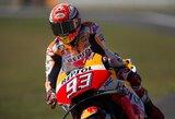 Prancūzijos GP lenktynėse – M.Marquezo dominavimas ir sportininkų kritimai...apšilimo rate