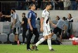 """Pamatykite: paskutines rungtynes """"Galaxy"""" gretose Z.Ibrahimovičius užbaigė skandalu"""